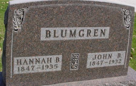BLUMGREN, JOHN B. & HANNAH - Sac County, Iowa | JOHN B. & HANNAH BLUMGREN