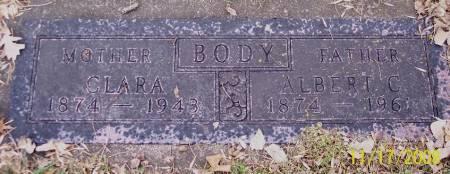 BODY, CLARA - Sac County, Iowa | CLARA BODY