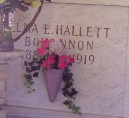 HALLETT BOHANNON, ELMA ESTELLE - Sac County, Iowa | ELMA ESTELLE HALLETT BOHANNON
