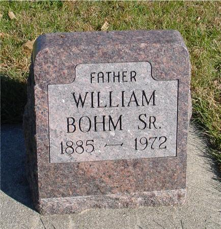 BOHM, WILLIAM, SR. - Sac County, Iowa | WILLIAM, SR. BOHM