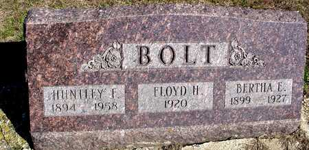 BOLT, HUNTLEY & BERTHA - Sac County, Iowa | HUNTLEY & BERTHA BOLT