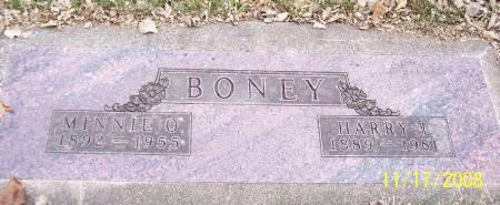 BONEY, HARRY LEE - Sac County, Iowa   HARRY LEE BONEY
