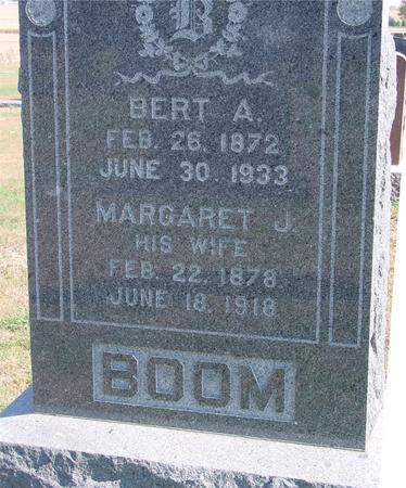 BOOM, BERT  & MARGARET - Sac County, Iowa | BERT  & MARGARET BOOM