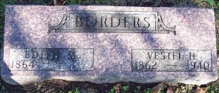 BORDERS, VESTEL H - Sac County, Iowa   VESTEL H BORDERS