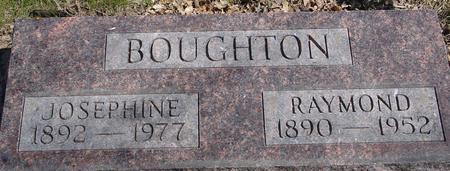 BOUGHTON, RAY & JOSEPHINE - Sac County, Iowa | RAY & JOSEPHINE BOUGHTON