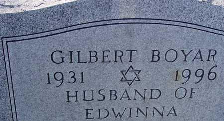 BOYAR, GILBERT - Sac County, Iowa | GILBERT BOYAR