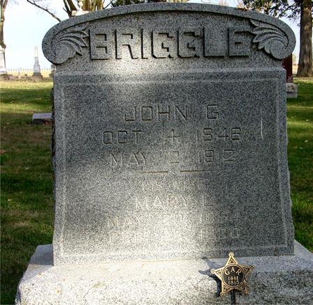 BRIGGLE, JOHN G. - Sac County, Iowa   JOHN G. BRIGGLE