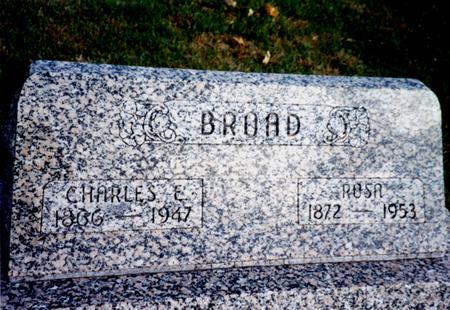 BROAD, CHARLES & ROSA - Sac County, Iowa | CHARLES & ROSA BROAD