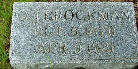 BROCKMAN, O. J. - Sac County, Iowa | O. J. BROCKMAN