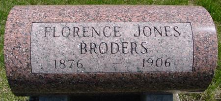 BRODERS, FLORENCE - Sac County, Iowa | FLORENCE BRODERS