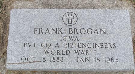 BROGAN, FRANK - Sac County, Iowa | FRANK BROGAN