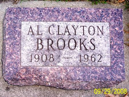 BROOKS, AL CLAYTON - Sac County, Iowa   AL CLAYTON BROOKS
