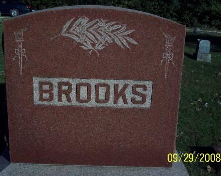 BROOKS, MONUMENT - Sac County, Iowa | MONUMENT BROOKS