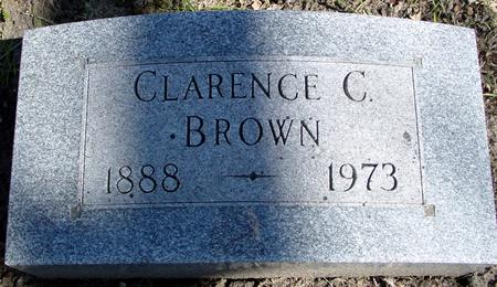 BROWN, CLARENCE C. - Sac County, Iowa | CLARENCE C. BROWN