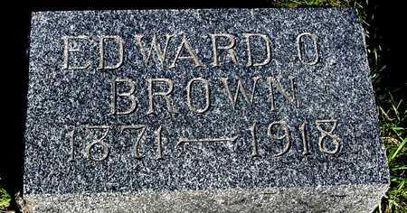 BROWN, EDWARD O. - Sac County, Iowa | EDWARD O. BROWN