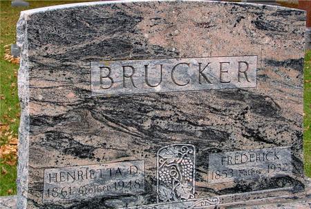 BRUCKER, FRED & HENRIETTA - Sac County, Iowa | FRED & HENRIETTA BRUCKER