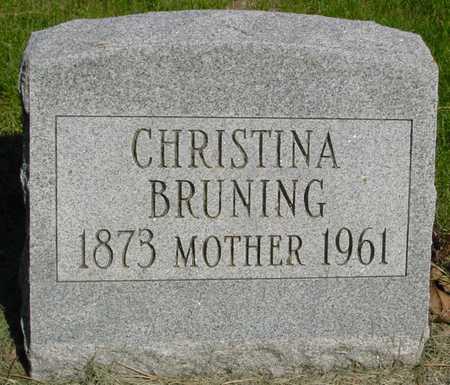 BRUNING, CHRISTINA - Sac County, Iowa | CHRISTINA BRUNING