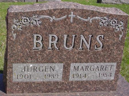 BRUNS, JURGEN & MARGARET - Sac County, Iowa | JURGEN & MARGARET BRUNS