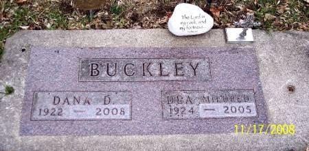 VAN HORN BUCKLEY, DEA MILDRED - Sac County, Iowa | DEA MILDRED VAN HORN BUCKLEY