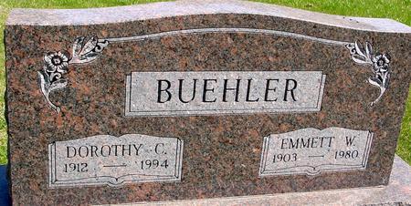 BUEHLER, EMMETT & DOROTHY - Sac County, Iowa | EMMETT & DOROTHY BUEHLER
