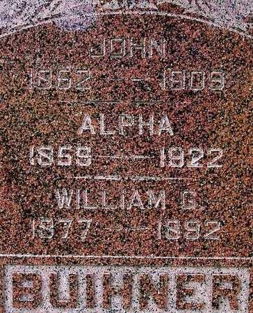 BUIHNER, JOHN & ALPHA - Sac County, Iowa | JOHN & ALPHA BUIHNER