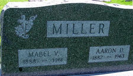 MILLER, MABEL V & AARON D. - Sac County, Iowa | MABEL V & AARON D. MILLER