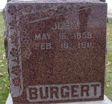 BURGERT, JOHN - Sac County, Iowa | JOHN BURGERT