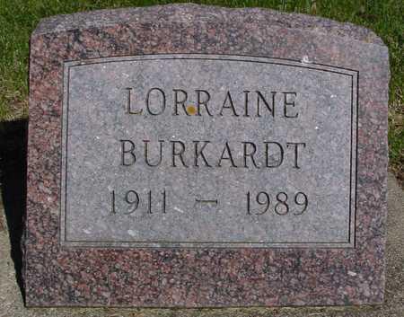 BURKARDT, LORRAINE - Sac County, Iowa | LORRAINE BURKARDT