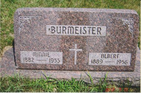 BURMEISTER, ALBERT - Sac County, Iowa | ALBERT BURMEISTER