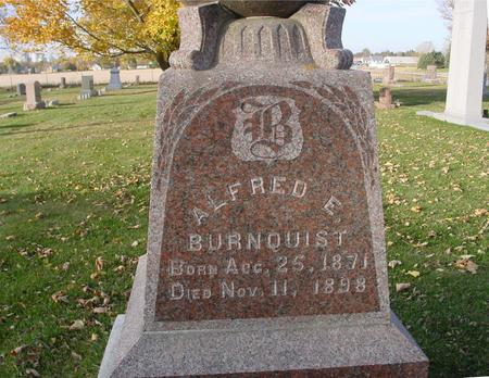 BURNQUIST, ALFRED E. - Sac County, Iowa | ALFRED E. BURNQUIST