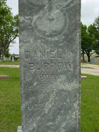 BURROW, DANIEL M. - Sac County, Iowa | DANIEL M. BURROW