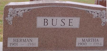 BUSE, HERMAN & MARTHA - Sac County, Iowa | HERMAN & MARTHA BUSE