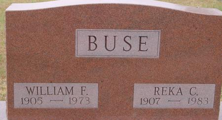 BUSE, WILLIAM & REKA - Sac County, Iowa | WILLIAM & REKA BUSE
