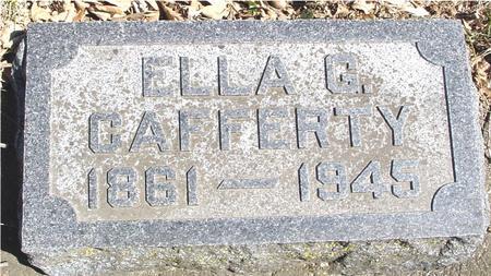 CAFFERTY, ELLA G. - Sac County, Iowa   ELLA G. CAFFERTY