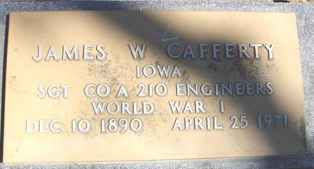 CAFFERTY, JAMES W. - Sac County, Iowa | JAMES W. CAFFERTY