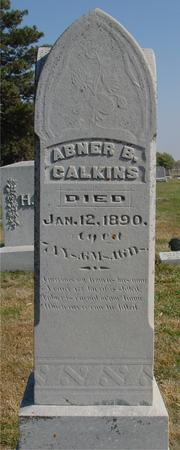 CALKINS, ABNER B. - Sac County, Iowa | ABNER B. CALKINS