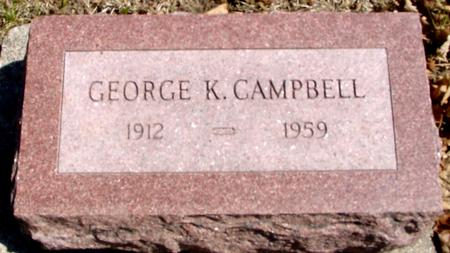 CAMPBELL, GEORGE K. - Sac County, Iowa | GEORGE K. CAMPBELL