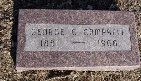 CAMPBELL, GEORGE C. - Sac County, Iowa | GEORGE C. CAMPBELL
