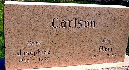 CARLSON, ALBIN & JOSEPHINE - Sac County, Iowa   ALBIN & JOSEPHINE CARLSON