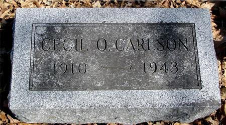 CARLSON, CECIL O. - Sac County, Iowa | CECIL O. CARLSON