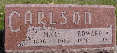 CARLSON, EDWARD A. & MARY - Sac County, Iowa   EDWARD A. & MARY CARLSON