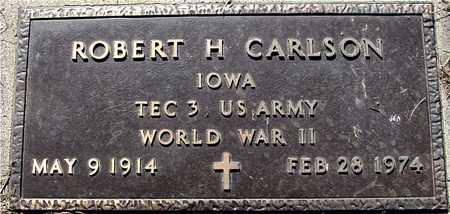 CARLSON, ROBERT H. - Sac County, Iowa   ROBERT H. CARLSON