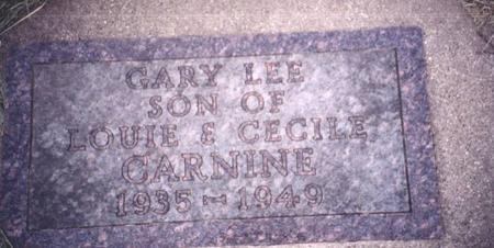 CARNINE, GARY  LEE - Sac County, Iowa | GARY  LEE CARNINE