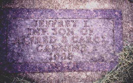 CARNINE, JEFFREY - Sac County, Iowa   JEFFREY CARNINE