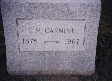 CARNINE, T. H. - Sac County, Iowa | T. H. CARNINE