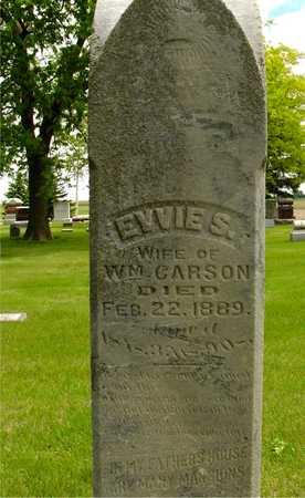CARSON, EVVIE S. - Sac County, Iowa   EVVIE S. CARSON
