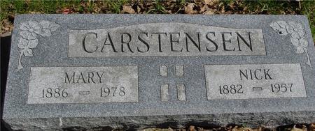 CARSTENSEN, NICK & MARY - Sac County, Iowa | NICK & MARY CARSTENSEN