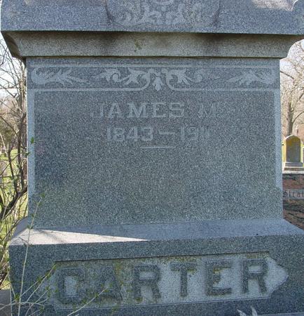CARTER, JAMES M. - Sac County, Iowa   JAMES M. CARTER