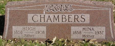 CHAMBERS, HUGH & MINA - Sac County, Iowa | HUGH & MINA CHAMBERS
