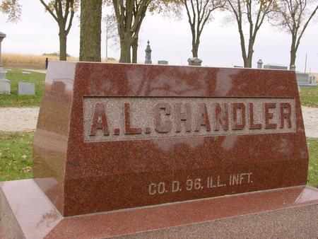 CHANDLER, ABNER L. - Sac County, Iowa   ABNER L. CHANDLER